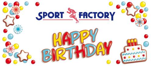 16 Jahre Sport Factory