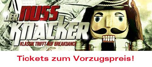 """Tickets zum Vorzugspreis! """"Der Nussknacker"""""""