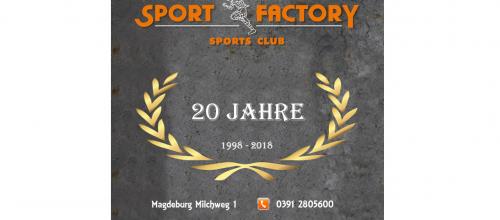 20 Jahre SPORT FACTORY